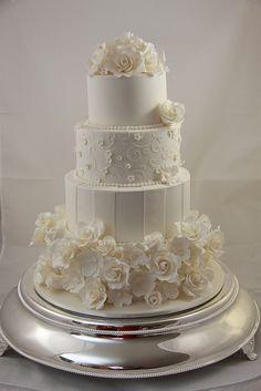 Kacie - Wedding Cake by Designer Cakes By Effie, via Flickr