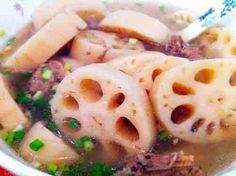 yzenith chinese food recipes-lotus root and pork ribs soup