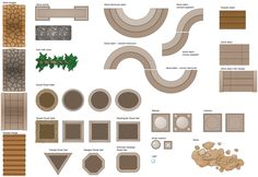 landscape design software draw deck and patio plans with elements floor kitchen dining room Urban Furniture, Street Furniture, Furniture Layout, Plywood Furniture, Furniture Plans, Gothic Furniture, Furniture Dolly, Furniture Websites, Furniture Online