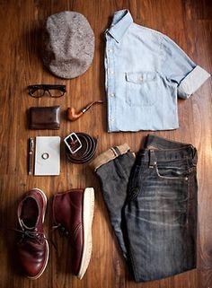 ♂ Man, accessory