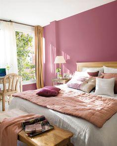 〚 Sunny feminine apartment with a terrace in Spain 〛 ◾ Photos ◾Ideas◾ Design Woman Bedroom, Dream Bedroom, Home Decor Bedroom, Bedroom Wall, Bedroom Ideas, Budget Bedroom, Cozy Bedroom, Bedroom Inspiration, Bedroom Color Schemes
