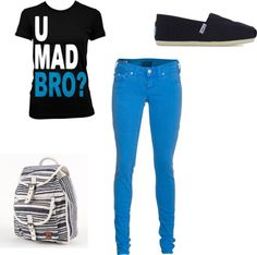 """""""you mad bro?"""" by gbierhorst on Polyvore"""