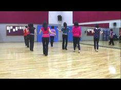 A Kiss 4 Me - Line Dance (Dance & Teach in English & 中文) - YouTube