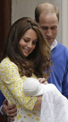 Her Royal Highness Charlotte Elizabeth Diana introduced to the world.