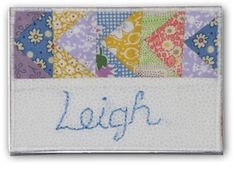 Quilt Guild Name Tags & Fabric Postcards