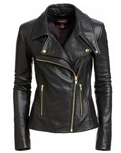 Leather jacket love