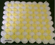Tom and Jerry New Full Episode Col Crochet, Tunisian Crochet Patterns, Crochet Motifs, Crochet Quilt, Crochet Squares, Baby Blanket Crochet, Tom Und Jerry, Afghan Stitch, Crochet Videos