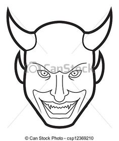 cara demonio - Google Search San Antoni, Saints, Halloween, Drawings, Google Search, Comic Tattoo, Faces, Colors, Manualidades