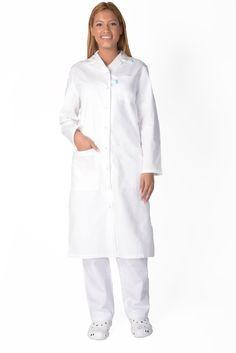 Blouse medicale femme blanche Alix - Lafont Formal Wear, Casual Wear, Housekeeping Uniform, Doctor Scrubs, Restaurant Uniforms, Lafont, Medical Uniforms, Sports Uniforms, Medical Scrubs