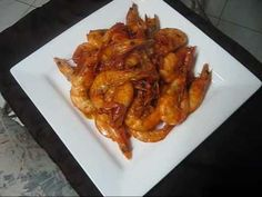 ▶ Jamaican Peppered Shrimp -Middle Quarters style - YouTube