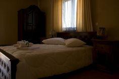 master bedroom of the family apartment Lernaia Hydra
