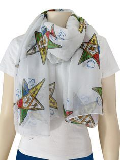Order of the Eastern Star Scarf