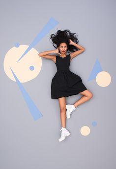 Campagne de publicité chaussures NOBOX. Lookbook Laurie Diaz photographe.