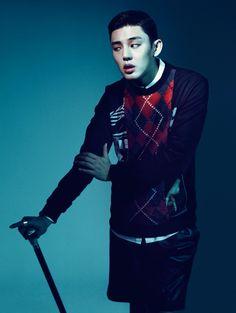 Yoo Ah In - High Cut Magazine Vol.106