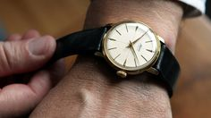 Small Pleasures, vintage Alpina Standard, circa 1950's in 33.5 mm.