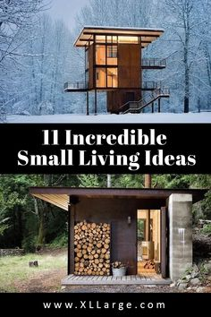 Great ideas for small spaces. Discover the art of living in a small space. These small living ideas will inspire and give you some great home ideas for small spaces. Small Space Living, Art Of Living, Small Spaces, Big Houses, Tiny House, The Incredibles, Inspire, Outdoor Structures, Live