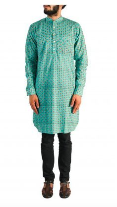 Printed Kurta and Churidar, available at an excellent price. Shop now! Nehru Jacket For Men, Nehru Jackets, Mens Ethnic Wear, Wedding Store, Green Print, Churidar, Indian Wear, Shop Now, Menswear