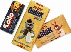Imagine o gosto doce do Galak ao leite dando nó na sua cabeça neste momento…