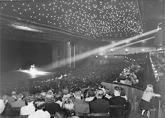 Berlin Wintergarten theatre, vaudeville stage at the Berlin Conservatory from the 1940s