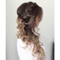 40 Picture-Perfect Hairstyles for Long Thin Hair ❤ liked on Polyvore featuring beauty products, haircare, hair styling tools, hair, beauty, hair styles, makeup, fine hair care and curling iron