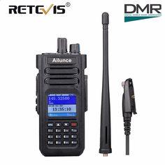 Ailunce HD1 GPS DMR Digital 3000CH VOX IP67 Dual Band VOX Amateur Radio+Acc US