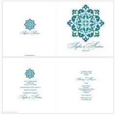 Emerald Gem Wedding Invitation