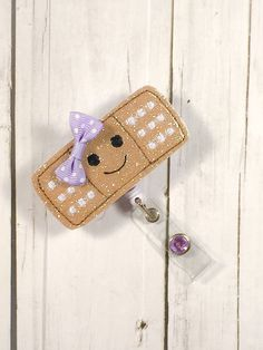 A personal favorite from my Etsy shop https://www.etsy.com/listing/256684409/cute-glitter-vinyl-band-aid-w-happy-face