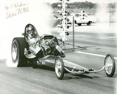 Eddie Hill raced at open competitions and Top Fuel events from 1955 until he retired in 1966.