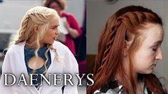 Shannara Chronicles Hair Tutorial - Amberle & Eretria - YouTube