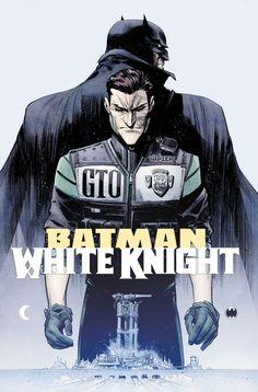 Batman white knight harley boobs