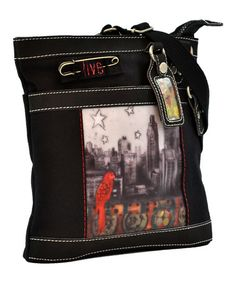 Take a look at this Black Color My World Luna Crossbody Bag by Sherpani on #zulily today! $40 !!