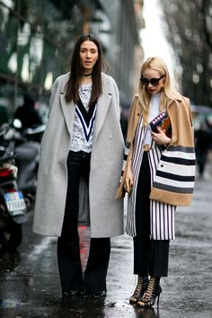 Fashion friends.