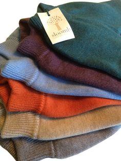 sloomb - medium-long knit wool longies
