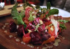 Farro salad at SHED Cafe in Healdsburg, California. Photo: Heather ...