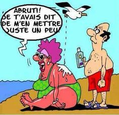 Hahaha !!attention aux mouettes