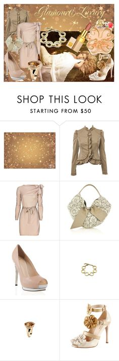 """luxury&glamour"" by stylerocking009 ❤ liked on Polyvore featuring Miss Selfridge, Moschino, Valentino, Giuseppe Zanotti, Bulgari, Prada, Lolita Lempicka, bulgari and bergdorfgoodman"