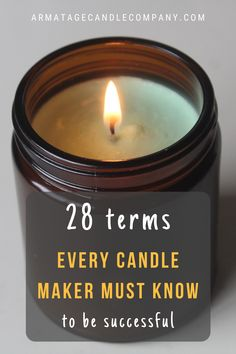 Candle Making For Beginners, Homemade Scented Candles, Diy Candles Easy, Soy Candle Making, Making Candles, Candle Maker, Candle Jars, Essential Oil Candles, Essential Oils