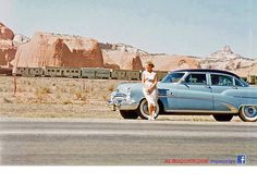 Another great Route 66 photo, this one out Gallup way