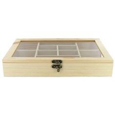 Wood Shadow Box with Glass Top | Shop Hobby Lobby $6.99