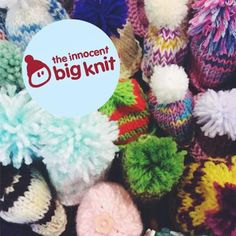 """@ENACareGroup """"we've just sent our little hats off to the big knit project! 100 knits are en-route @innocentdrinks #bigknit"""""""