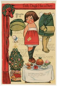 76.2944: Dolly Dingle Has a Party for Poor Little Polly   paper doll   Paper Dolls   Dolls   National Museum of Play Online Collections   The Strong