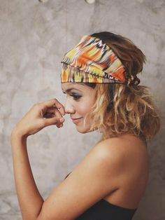 Tangerine Sunrise Headbands