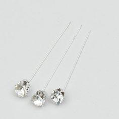 "2.25"" Rhinestone Pins #bling"