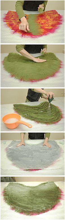 Мастер-класс: Валяные жилеты с капюшоном. Часть 1 - Ярмарка Мастеров - ручная работа, handmade