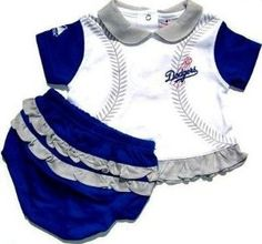 baby girl dodger outfits  3eb4735ae75