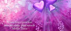 I love Mother Theresa quotes...
