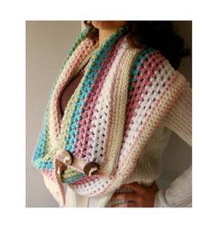 Crochet Infinity Scarf Pattern Crochet Cowl by PatternsByKrissy, You can purchase this pattern here https://www.etsy.com/listing/152733906/crochet-infinity-scarf-pattern-crochet