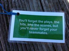 Teammates⚾ #Softball #softballquotes