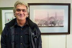 Aydın Toprak Apaydın Venüs Sanat Galerisi Dünya Sanat Günü Resim Sergisindeki çalışması ile..