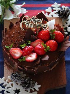 「クリスマスチョコレートケーキ」ChococoHS | お菓子・パンのレシピや作り方【corecle*コレクル】
